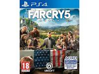 Far Cry 5 PS4 Swap