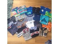 Boys t-shirt/top bundle 12-18 months, Ted baker, next, junior j