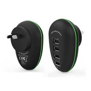 Portable 4 Port USB Charge Station including a 2.4A Fast-charging Melbourne CBD Melbourne City Preview