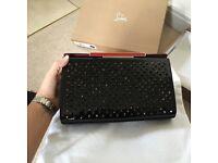Christian Louboutin clutch handbag