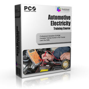 Automotive-Electricity-Car-Mechanics-Electronics-Training-Course-Guide-Manual-CD