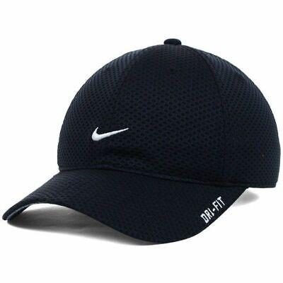 NEW! RARE Black NIKE TAILWIND Men-Women Runner Cap DRI-FIT Golf Hat