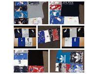 Men's Designer Tshirts/Polos - WHOLESALE - BULK BUY - TRUSTED SELLER