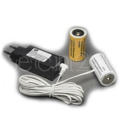 Batterieadapter 3V als Batterieersatz für 2 D Mono Batterien