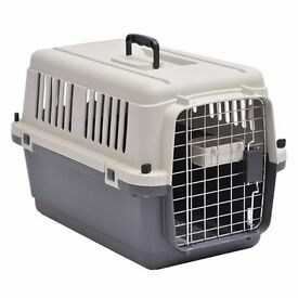 Barkshire Dog Carrier Airline Approved - Grey/White