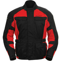 Tourmaster Sport Touring Jackets - RED - NEW at RE-GEAR