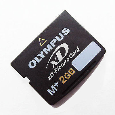 2GB XD Picture Memory Card OLYMPUS M-XD2GMP M+ Genuine Brand New 2 Gb Picture Card