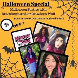 Monster high parties Halloween special ! Kawartha Lakes Peterborough Area image 1