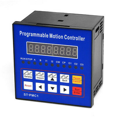 1 Single Axis Cnc Servo Stepper Motor Motion Programmable Controller St-pmc1