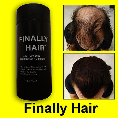 27.5g Keratin Hair Loss Fiber Building Fibers Applicator Bottle Finally Hair Kit