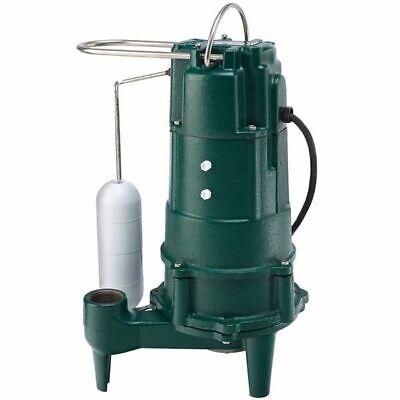 Zoeller M803 - 12 Hp Cast Iron Residential Grinder Pump 1-14 W Vertical...