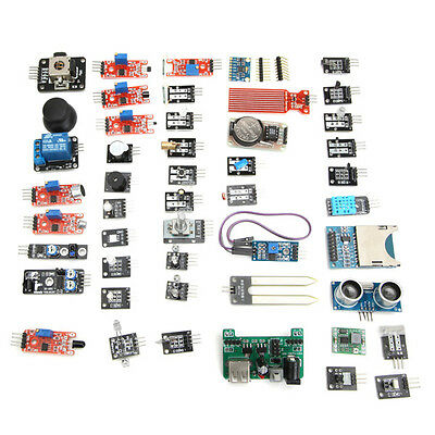 45 In 1 Sensor Module Board Kit Upgrade Version For Arduino New
