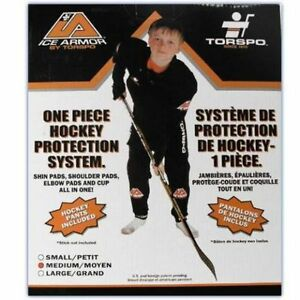 New Torspo Ice Armor One Piece Hockey Protection System 930 Medi