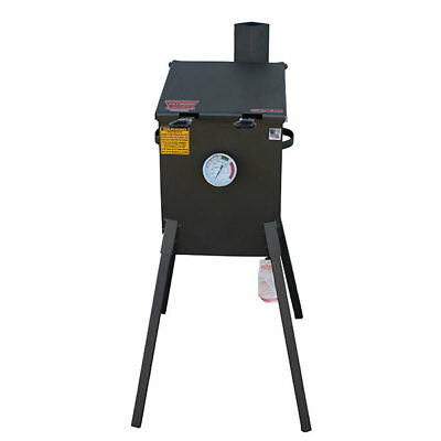 R&V Works 4 Gallon Cajun Fryer FF2-EC Fish Outdoor French Fry Deep Cooker Oil