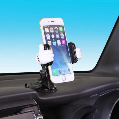 Mickey Mouse Accessories (New DISNEY Mickey Mouse Mobile Phone Mount Holder 3D Sucker Car)