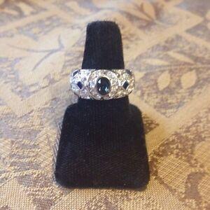 # 8--- Beautiful fun ring , cubic zirconia.