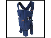 Baby Bjorn Original Denim Carrier sling (front facing)