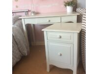 Dressing Table/Desk & Beside/Filing Cabinet