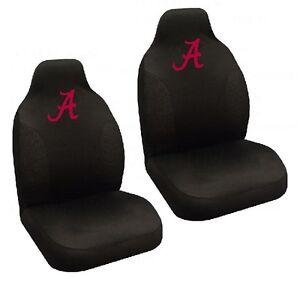 Alabama Crimson Tide Set of 2 Embroidered Seat Covers