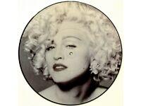 "Vinyl Record - Madonna 12"" Picture Disc"