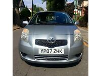 Toyota Yaris 1.3L Zinc 2007 Silver 5 Door Hatchback £1895 ono 1 Owner since New!!