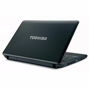 Toshiba Satellite C650 - Dual Core T4500 2.30 GHz- 4 GB RAM - 320 GB HDD - Windows 7 - CAM_DVD_VGA_USB 2_ETHERNET