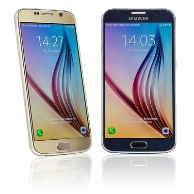 SAMSUNG GALAXY S6 G920F 32GB SMARTPHONE - SCHWARZ WEISS GOLD - HÄNDLER - WIE NEU