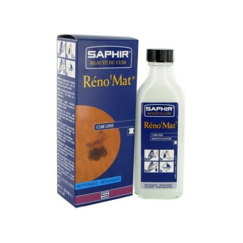NEW Saphir Renomat Cleaner and Stain Remover - 100ml Bottle
