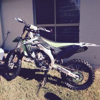 2012 Kawasaki kx450f  Ormeau Hills Gold Coast North Preview