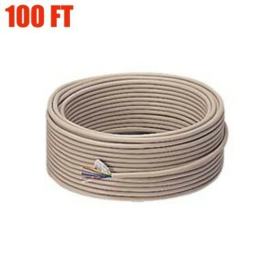 100ft 25 Conductor 28 Gauge Serial Cable Copper Bulk Wire 28awg Ivory