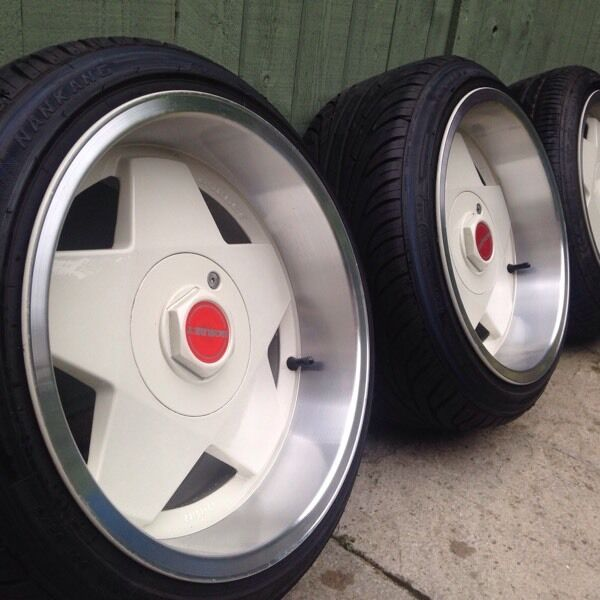 Alloy Wheels Borbet A 4x100 Vw 16 Quot Staggered Tyres In Canterbury Kent Gumtree