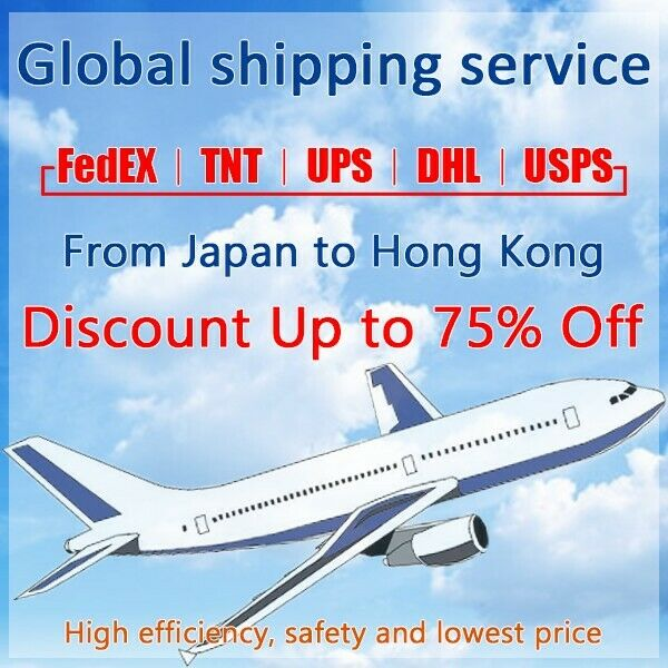 Discount FedEx/TNT/UPS Shipping label from Japan to Hong Kong fast shipping