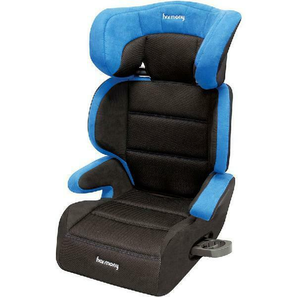 Toddler Booster Car Seat Convertible High Back Backless Kid Vehicle Travel Chair