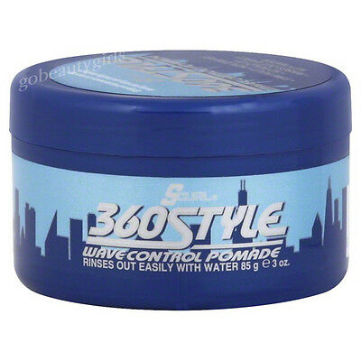 S CURL S-CURL 360 STYLE WAVE POMADE 360 DEGREE  S-curl 360 Style Pomade