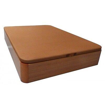 Canape NUEVO 150x190 de madera, cerezo con base tapizada reforzada, gran calidad
