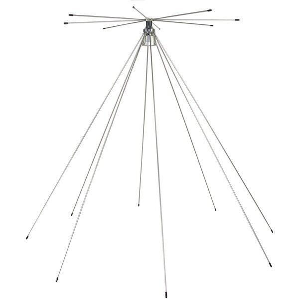 TRAM(R) 1410 Tram(R) Scanner 25MHz-1,300MHz VHF/UHF Super Discone Base Antenna