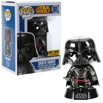 Funko Pop! Darth Vader Chrome Star Wars Hot Topic Exclusive 01