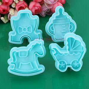 Mixed Biscuit Icing Cake Decorating Sugarcraft Fondant Plunger Cutters Tools New