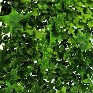 Vertical Green Wall Artificial Instant Hedge Plants 50x50cm Tiles Sydney City Inner Sydney Preview
