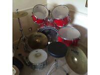 Pearl Drum kit - Export Series