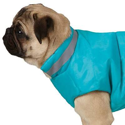 - North Paw Vibrant Puffy Vest by Casual Canine - Size Small - Color - Blue