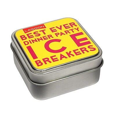 Lagoon Games Best Ever Dinner Party Ice Breakers 7926 Tabletop Game Xmas Gift - Best Christmas Party Games