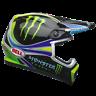 2018 Bell MX9 Mips Monster Energy Pro Circuit Replica Large MX Helmet Motocross