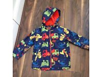 Age 4-5 Next Boys Lightweight Coat /raincoat