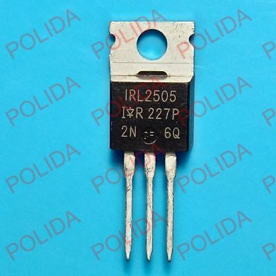 5pcs Mosfet Transistor Ir To-220 Irl2505 Irl2505pbf