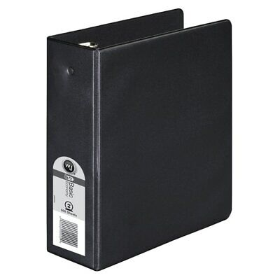 Wilson Jones 368 Basic Mini 3-ring Binder 2 Round Rings Black