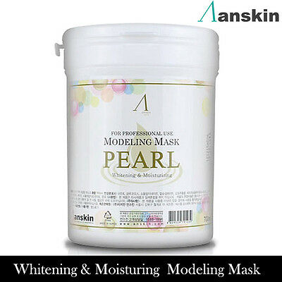 Anskin Original Modeling Mask Powder Pearl Pack 700ml Whitening,Moisturing