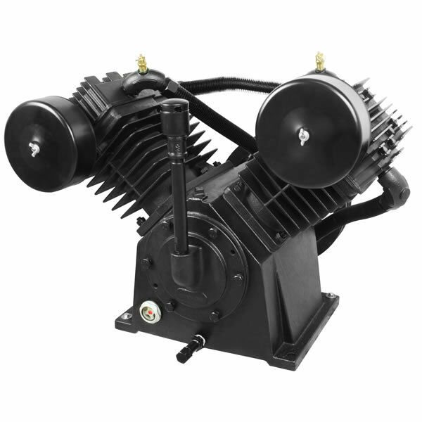 Industrial Air 10-hp 2-stage V-twin Replacement Air Compressor Pump (35 Cfm @...