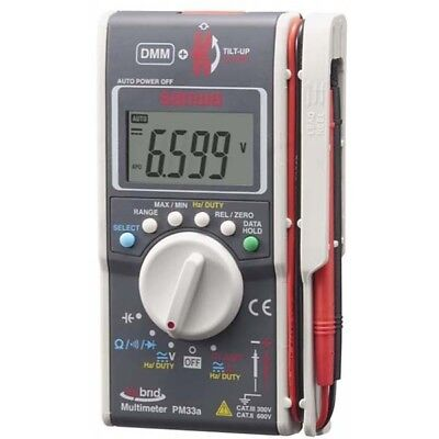 New Official Sanwa Pm33a Hybrid Digital Multimeter Clamp Meter From Japan