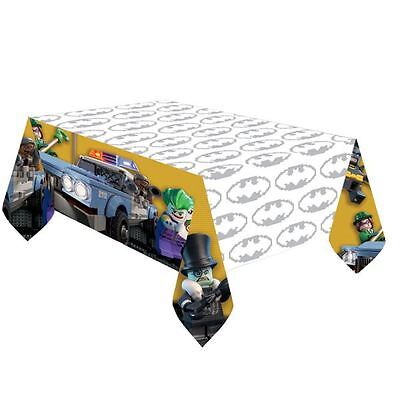 LEGO Batman Movie Plastic Tablecovers 1.37m x 2.43m DC Superhero Birthday Party